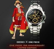 航海王ONE PIECE × SEIKO 海賊王 動畫15週年紀念超霸氣全球限量錶
