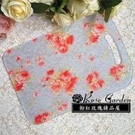 粉紅玫瑰精品屋~抗菌壓克力玫瑰砧板 玫瑰砧板~藍玫瑰