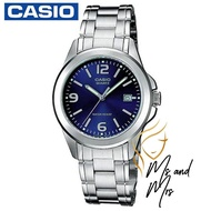 Casio Standard นาฬิกาข้อมือผู้หญิง สายสแตนเลส รุ่น LTP-1215A