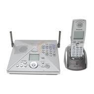 國際牌 Panasonic KX-TH102,2外線 數位答錄無線電話,可接藍牙耳機, 8 成新