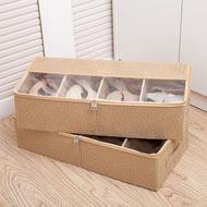 鞋盒 加厚透明鞋盒床底收納靴子鞋袋可組合鞋子收納箱鞋子收納盒長靴盒 ATF