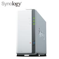 群暉 Synology DS120J 網路儲存伺服器 (1Bay/Marvell Armada 3700 88F3720 雙核/DDR3 512MB/USB 2.0 *2/2年保)