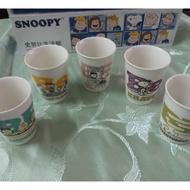 全新 Snoopy史努比陶瓷水杯組