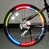 Mountain Bike Wheel Reflective Stickers Rim Sticker Wheel Reflective