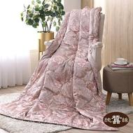【岱妮蠶絲】精美絲棉緞蠶絲涼被0.7KG-古典變型花(LHS38E01)