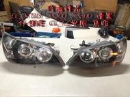 浩瀚精品 LEXUS IS200 IS300 ALTEZZA 黑底 燻黑 CCFL光圈 魚眼大燈 頭燈 外銷版