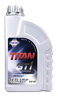 FUCHS  TiTAN GT1 5W40 合成機油(汽柴共用) #5201