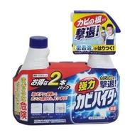 日本進口 Kao花王強力浴室除霉除菌泡沫噴霧清潔劑組(本體400ml +補充液)