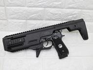 2館 iGUN 貝瑞塔 M9A1 手槍 CO2槍 連發版+ 衝鋒套件 (GBB衝鋒槍BB槍M92M9玩具槍空氣槍