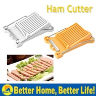 Meat Slicer Luncheon Meat Ham And Fruit Slicer Sectioner Cutter Mold Ham Cheese Slicer Cutter Tool