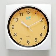 【ORIENT 東方】BIBA系列 BW265 藝術居家方型生活掛鐘(白色)