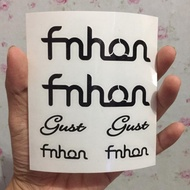 Cutting Sticker Frame Bike Fnhon Gust Package Right Left