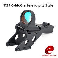C-More Reflex Sight For HI-CAPA 1*29 C-More Style Tactical Red Dot Sight IPSC Dot Sight Serendipity Mount