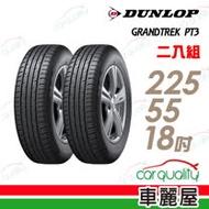 【登祿普】GRANDTREK PT3 休旅車專用輪胎_二入組_225/55/18
