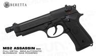 ^^上格生存遊戲^^Beretta 貝瑞塔 M92FS 有牙刺客版黑色 M92AS 6mm 原廠授權