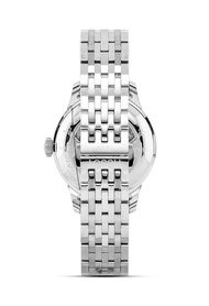 Tissot Le Locle Powermatic 80 Men's Grey Stainless Steel Bracelet and Silver Dial Automatic Watch