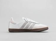 【Free shipping 】Adidas รองเท้า Samba OG คลาสสิก รองเท้าผู้ชายรองเท้าผู้หญิง adidasอาดิดาส รองเท้าคัชชู รองเท้าผ้าใบสีขาว