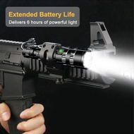 80000Lumens Tactical LED Flashlight Rechargeable Scout light Torch light 18650