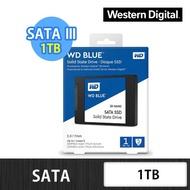 【WD 威騰】藍標 1TB 2.5吋 7mm SATA 3D NAND 固態硬碟(WDS100T2B0A)