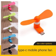 1PC High Quality 100% tested Mini Portable Type-C Phone Fan Removable Type-C Low Power Fan