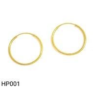 [CASHBACK] Emas 916 Subang / Anting | Gold 916 Earring HP01