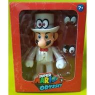 正版 Nintendo任天堂 超級瑪莉歐 奧德賽 白衣紳士 公仔
