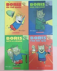 Boris Series 4 books by Scholastic Branches