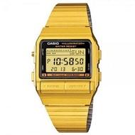 Casio นาฬิกา DATA BANK ทอง สายสแตนเลส รุ่น DB-380G-1DF
