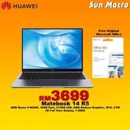 HUAWEI Matebook 14 R5-4600H,16GB,512GB WIN10 Grey Laptop