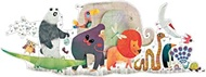 DJECO Animal Parade Giant Floor Jig Saw Puzzle