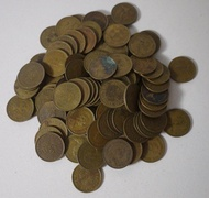 AP187 香港早期伍毫硬幣 共99枚壹標 如圖!
