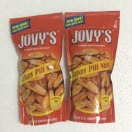 PTT鄉民推薦啾咪牌香蕉乾香蕉餅乾公司出品菲律賓長灘島名產霹靂堅果霹靂豆JOVY'S PILI nuts