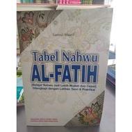 Nahwu Al Fatih Table (nahwu Flash)