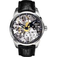 【TISSOT】T-Classic 鏤空手動上鍊腕錶(T0704051641100)