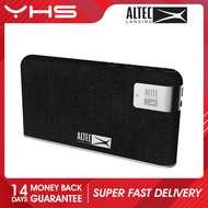 [CLEARANCE] ALTEC LANSING STONE PORTABLE BLUETOOTH WIRELESS THIN PROFILE FABRIC WRAPPED SPEAKER