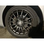 Advan Racing RT 17吋 15爪輕量化鋁圈 4*108 Peugeot 206 207 208