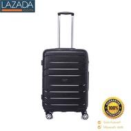 ELEMENTSกระเป๋าเดินทางชนิดแข็ง 4 ล้อ สีดำ ขนาด 24 นิ้ว ส่งฟรี