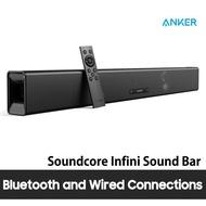 [ANKER] Soundcore Infini Integrated 2.1 Channel Soundbar by Anker  35-Inch Soundbar for TV