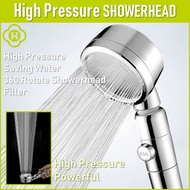 NEW⭐HICKIES⭐ ShowerHead / Saving Water / High Pressure / 3 Type of Shower Head /360 Rotate Funtion