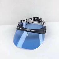 CHRISTIAN DIOR 淺藍色遮陽帽子 專櫃13500 特價8880/💜