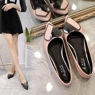 (Spot)รองเท้าผู้หญิง รองเท้าแฟชั่น แบบหุ้มส้นคัชชู สวยเรียบหรูดูดี BG-160