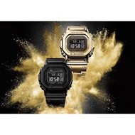 全新卡西歐Casio G-SHOCK GMW-B5000GD-9 ( GMW B5000 金色鋼帶)