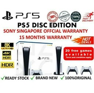 SONY PS5 PLAYSTATION 5 (825GB) DISE EDITION SINGAPORE SET (2CTR)