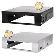 銀欣 SST-FP55 B S 5.25吋轉 3.5吋鋁面板硬碟轉接架 SilverStone (黑/銀 )