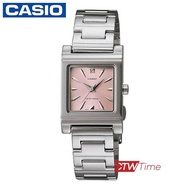 《ลดล้างสต๊อก》ส่งฟรี !! Casio Standard นาฬิกาข้อมือผู้หญิง สายสแตนเลส รุ่น LTP-1237D