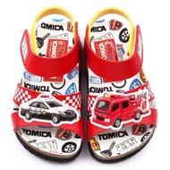 【童鞋城堡】軟木風格涼鞋 Tomica多美小汽車(TM3623-紅)