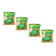 Green Nagaraya Garlic Cracker Nuts 160g 4's 104166 w45 (LP)