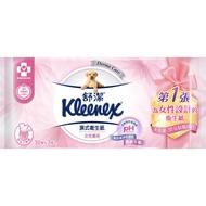 舒潔女性專用濕式衛生紙10X3包x6組