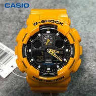 Leo Marketing 100%- Original Thailand & Japan G-Shock GA-100A-9A Bumblebee Ready Stock