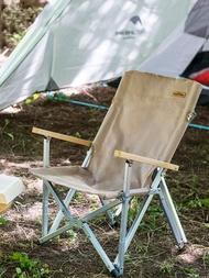 Naturehike 2020 แบบพกพา Ultralight Camping เก้าอี้กลางแจ้งขนาดกะทัดรัดเก้าอี้ปิคนิคพับสูงโหลดตกปลาเก้าอี้ชายห...